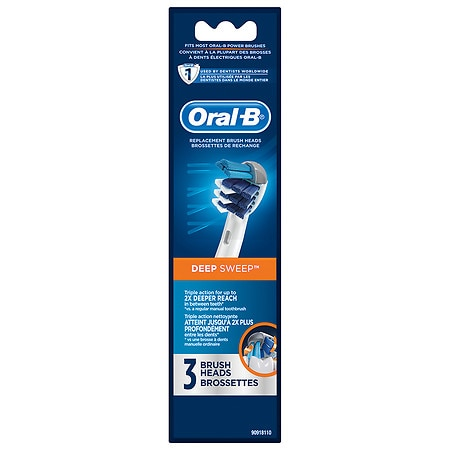 Oral-B Professional Care Deep Sweep Replacement Electric Toothbrush Head