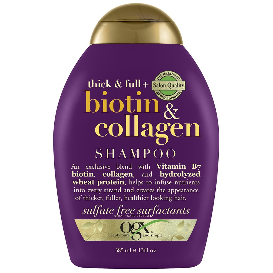 OGX 13 fl. oz. Thick Full Biotin Collagen Conditioner