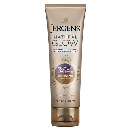 Jergens Natural Glow 3 Days to Glow Moisturizer Medium to Tan