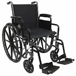 Karman 16in Lightweight Steel Wheelchair