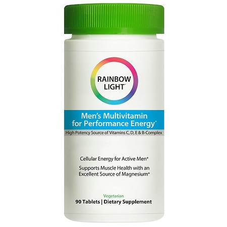 Rainbow Light Performance Energy for Men, Tablets - 90 ea