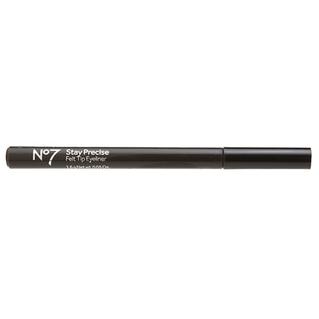 No7 Stay Precise Felt Tip Eye Liner - 0.06 fl oz