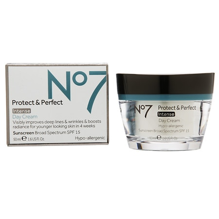 No7 Protect & Perfect Intense Day Cream, SPF 15 - 1.6 oz.
