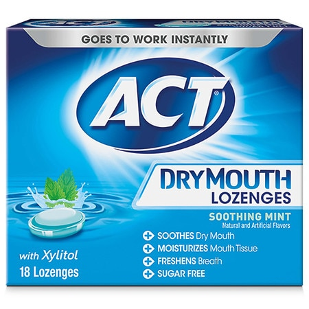 ACT Total Care Dry Mouth Lozenges Mint