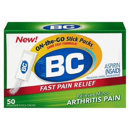 BC Pain Reliever/Fever Reducer Powders