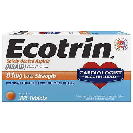 Super Ecotrin 81 Mg Low Strength Safety Coated Aspirin Tablets Machost Co Dining Chair Design Ideas Machostcouk