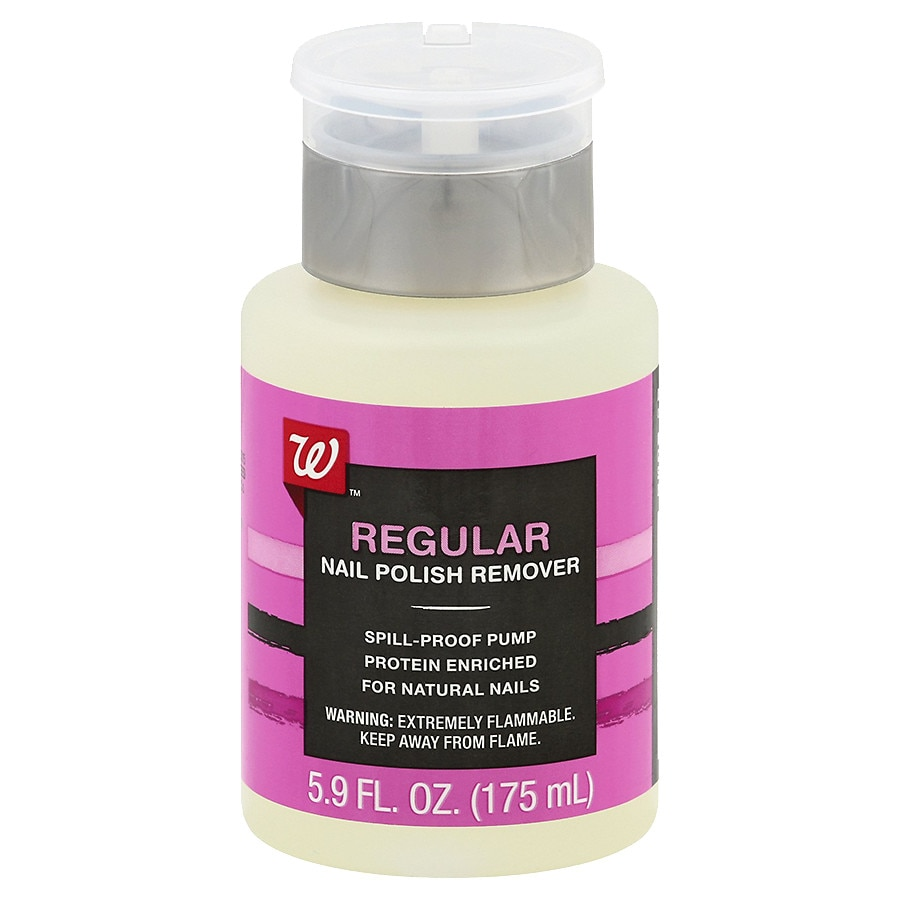 Walgreens Halloween Nail Polish: Walgreens Beauty Nail Polish Remover Pump