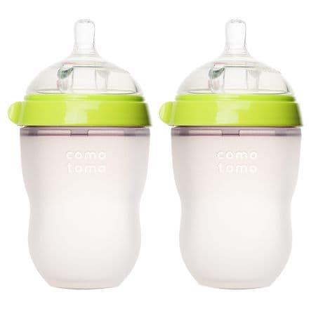 Comotomo Baby Bottle, 2 Pack