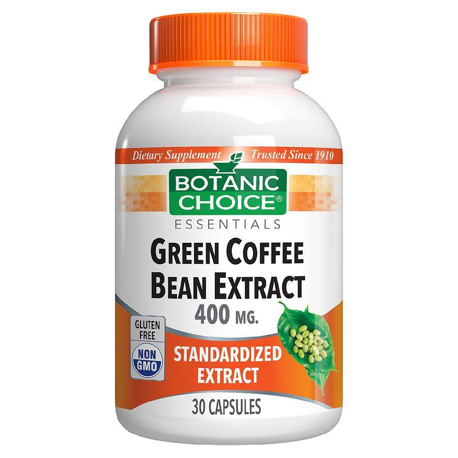 Botanic Choice Green Coffee Bean Extract Capsule Walgreens