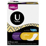 U by Kotex Lightdays Pantiliners, Extra Coverage