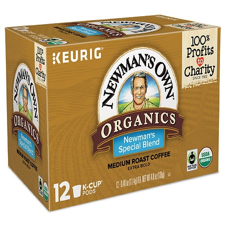 Green Mountain Ground Coffee K-Cups 12 Pack Newman's Special Blend, All Sizes