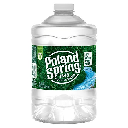 poland springs 100 natural spring water 3 liter bottle walgreens. Black Bedroom Furniture Sets. Home Design Ideas