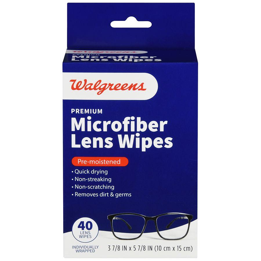 a667cb359d83 Walgreens Pre-Moistened Lens Wipes