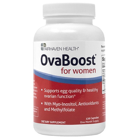 Fairhaven Health OvaBoost for Women, Capsules - 120 ea