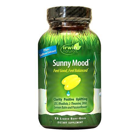 Irwin Naturals Sunny Mood, Softgels - 75 ea