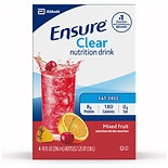 Ensure Active Ensure Clear Nutrition Drink Mixed Fruit