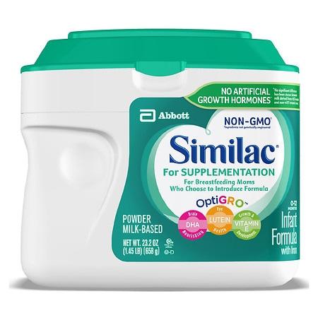 Similac For Supplementation Infant Formula with Iron,