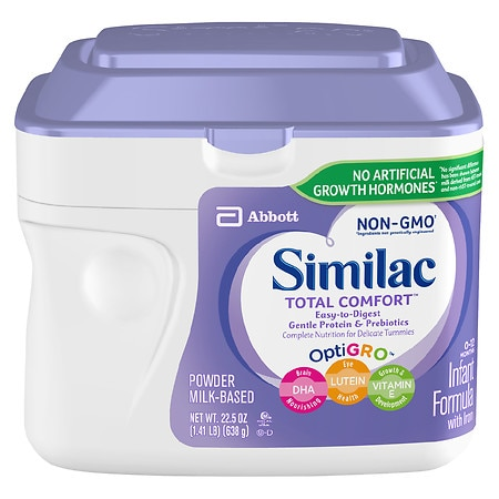 Similac Total Comfort Infant Formula with Iron,
