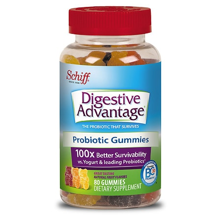 Schiff probiotic gummies