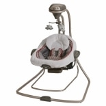 Graco DuetSoothe Swing & Rocker Tan & Aqua Winslet