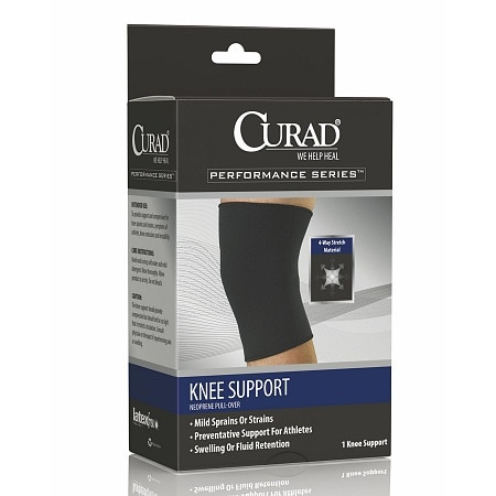 Curad Knee Support Neoprene Pull Over Medium - 1 ea