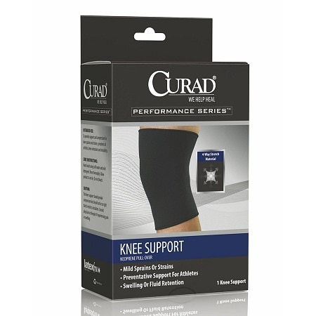 Curad Knee Support Neoprene Pull Over Large - 1 ea