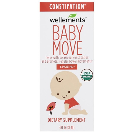 Wellements Baby Move Constipation - 4 fl oz