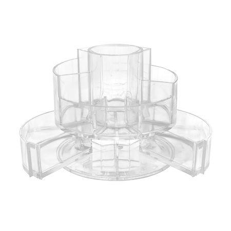 SOHO Expandable Cylinder Vanity Acrylic Organizer, 1 ea