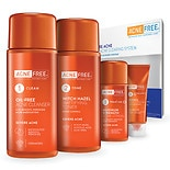 AcneFree 4 Step Severe Acne Clearing System Kit with Benzoyl Peroxide