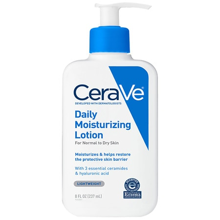 Moisturizing Lotion for Normal to Dry Skin Fragrance Free - 8 fl oz