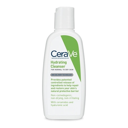 Hydrating Facial Cleanser for Normal to Dry Skin Fragrance Free - 3 fl oz
