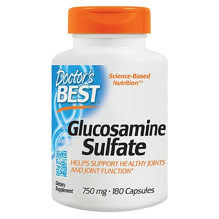 Doctor's Best Best Glucosamine Sulfate, 750mg, Capsules - 180 ea