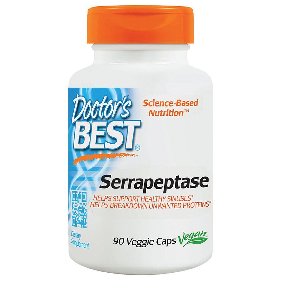Doctor's Best Serrapeptase, Veggie Caps