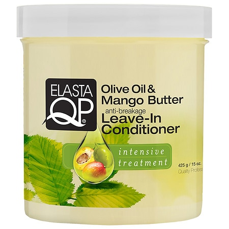 Image of Elasta QP Olive Oil Mango Butter Conditioner - 15 oz.