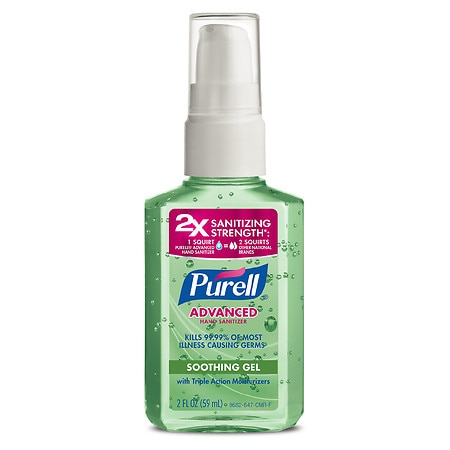 Purell Advanced Hand Sanitizer Gel Aloe - 2 oz.