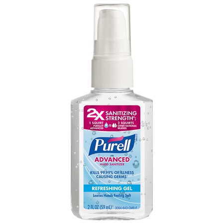Purell Advanced Hand Sanitizer Refreshing Gel Original - 2 oz.