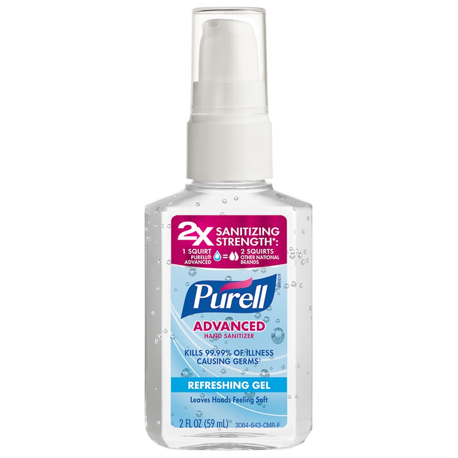 Purell Advanced Hand Sanitizer Refreshing Gel 1 Fl Oz Instacart
