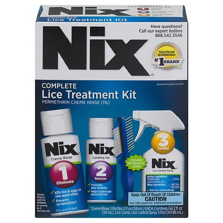 Nix Complete Lice Elimination Kit - 1 ea