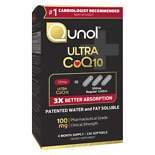 Buy 1 Get 1 FREE Qunol CoQ10 & Tumeric supplements