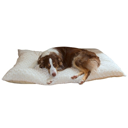 Paw Lavish Cushion Pillow Furry Pet Bed