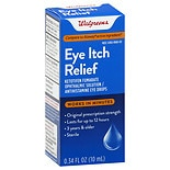 Walgreens Eye Itch Relief Drops