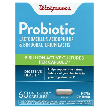 Walgreens Daily Probiotic, Caplets