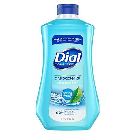 Dial Antibacterial Liquid Hand Soap Refill Spring Water