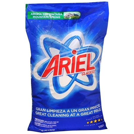 Ariel Clasico Detergent Powder Mountain Spring - 63 oz.