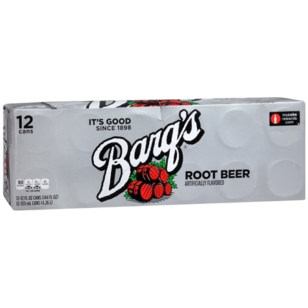 Barq's Soda Root Beer, 12 oz Cans - 12 ea x 12 pack