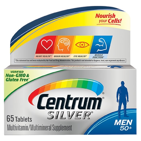 Image of Centrum Silver Men Age 50+, Complete MultivitaminMultimineral Supplement Tablet - 65 ea