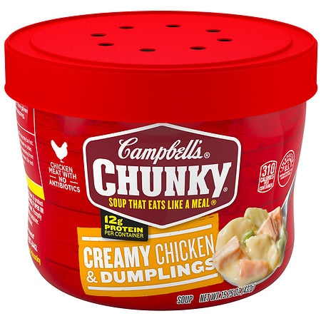 Campbell's Chunky Creamy Chicken & Dumplings Soup - 15.2 oz.