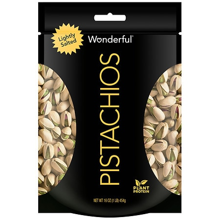 Wonderful In Shell Pistachios Roasted & Lightly Salted - 16 oz.