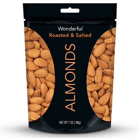 Wonderful Almonds Roasted & Salted - 7 oz.
