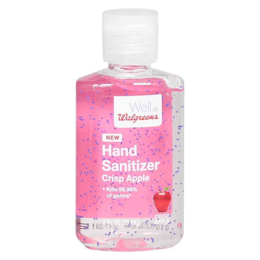 walgreens hand sanitizer gel apple walgreens